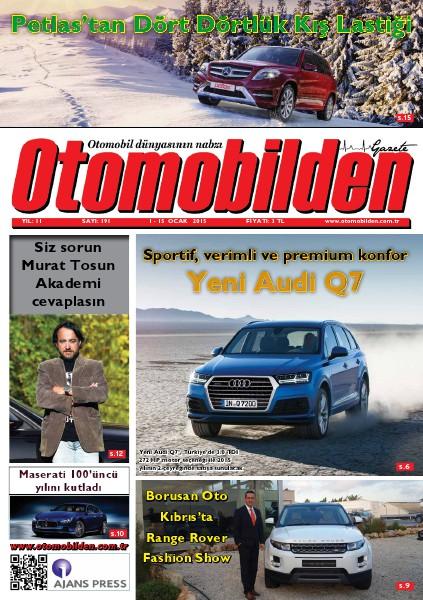 Otomobilden Dergisi 1-15 Ocak 2015