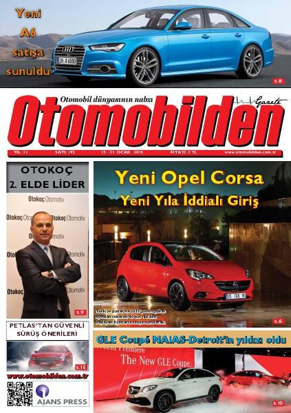 Otomobilden Dergisi 15-31 Ocak 2015