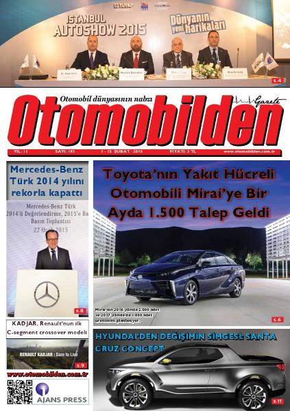 Otomobilden Dergisi 1-15 Şubat 2015