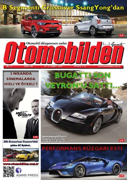 Otomobilden Dergisi 15-31 Mart 2015