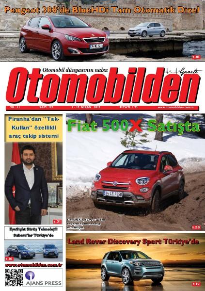 Otomobilden Dergisi 1-15 Nisan 2015