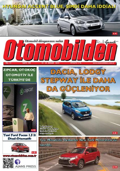 Otomobilden Dergisi 15-30 Nisan 2015