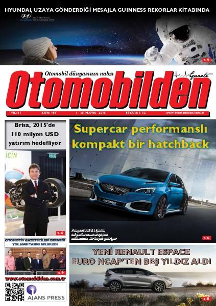 Otomobilden Dergisi 1-15 Mayıs 2015