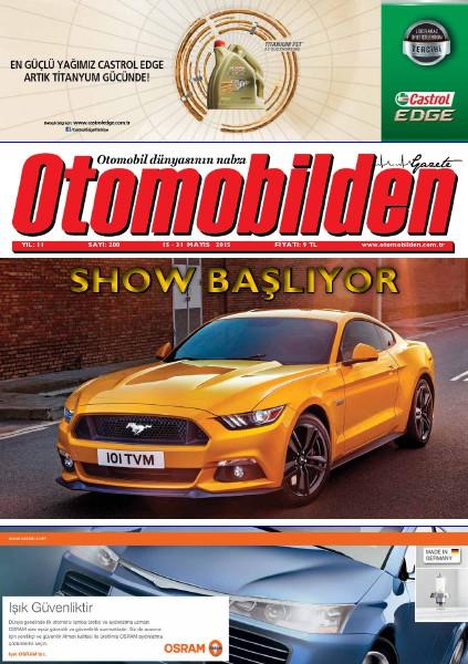Otomobilden Dergisi 15-31 Mayıs 2015 200. İstanbul Auto Show sayısı