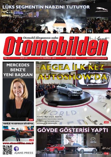 Otomobilden Dergisi 1-15 Haziran 2015