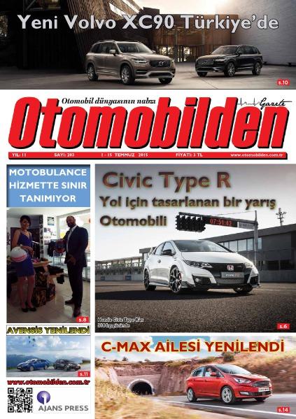 Otomobilden Dergisi 1-15 Temmuz 2015