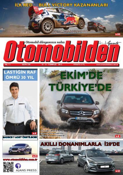 Otomobilden Dergisi 15-31 Temmuz sayısı