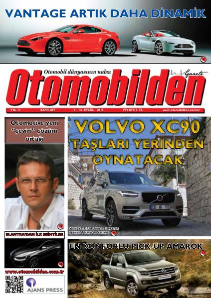 Otomobilden Dergisi 1-15 Eylül 2015