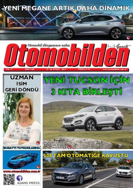 Otomobilden Dergisi 15-30 Eylül 2015