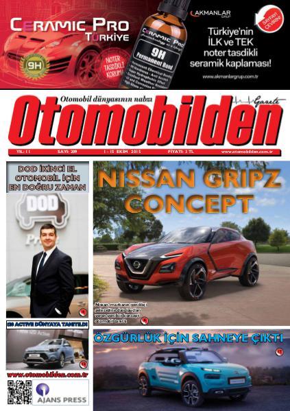 Otomobilden Dergisi 1-15 Ekim 2015
