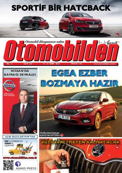 Otomobilden Dergisi 15-31 Ekim 2015