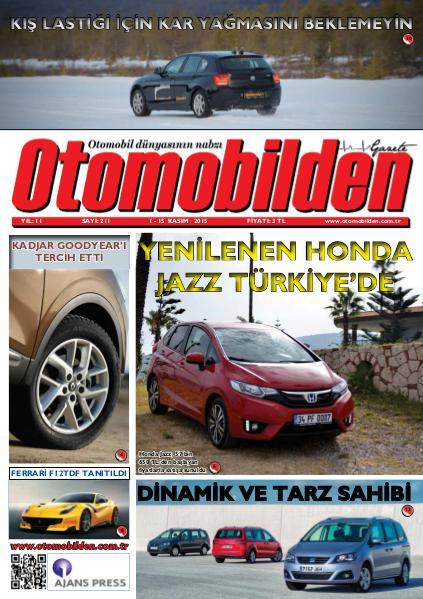 Otomobilden Dergisi 1-15 Kasım 2015