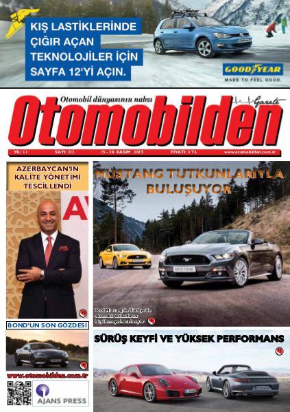 Otomobilden Dergisi 15-30 Kasım 2015