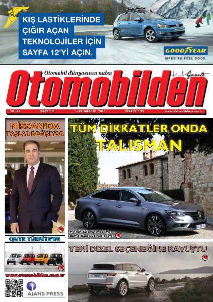 Otomobilden Dergisi 1-15 Aralık 2015