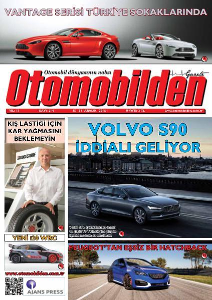 Otomobilden Dergisi 15-31 Aralık 2015