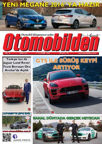 Otomobilden Dergisi 1-15 Ocak 2016