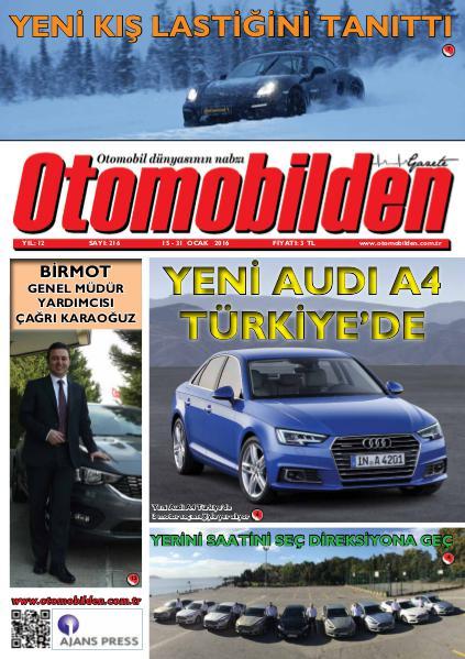 Otomobilden Dergisi 15-31 Ocak 2016