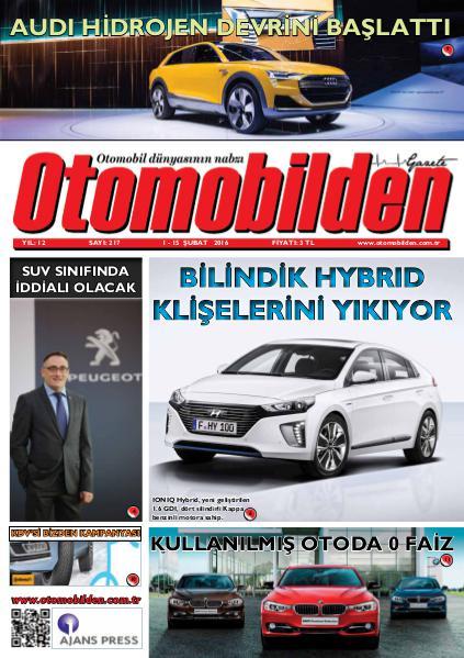 Otomobilden Dergisi 1-15 Şubat 2016