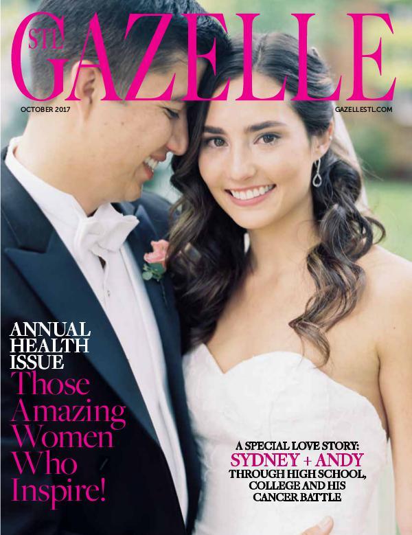 GAZELLE MAGAZINE October Health Issue.