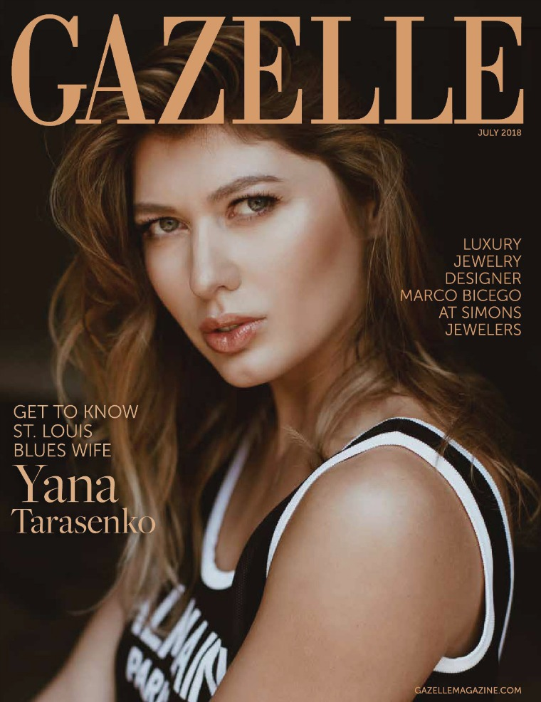GAZELLE MAGAZINE JULY 2018
