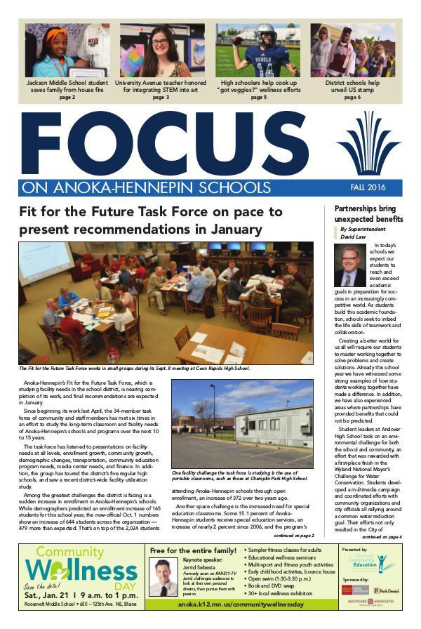 2016-17 Focus newsletter, [2] fall