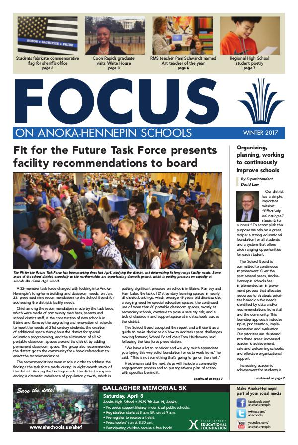 2016-17 Focus newsletter, [3] winter