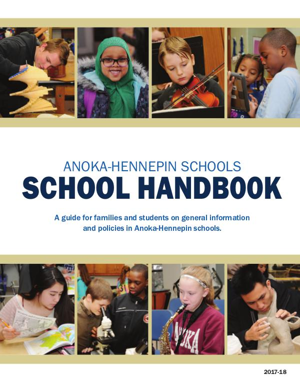 Policy handbook 2017-18