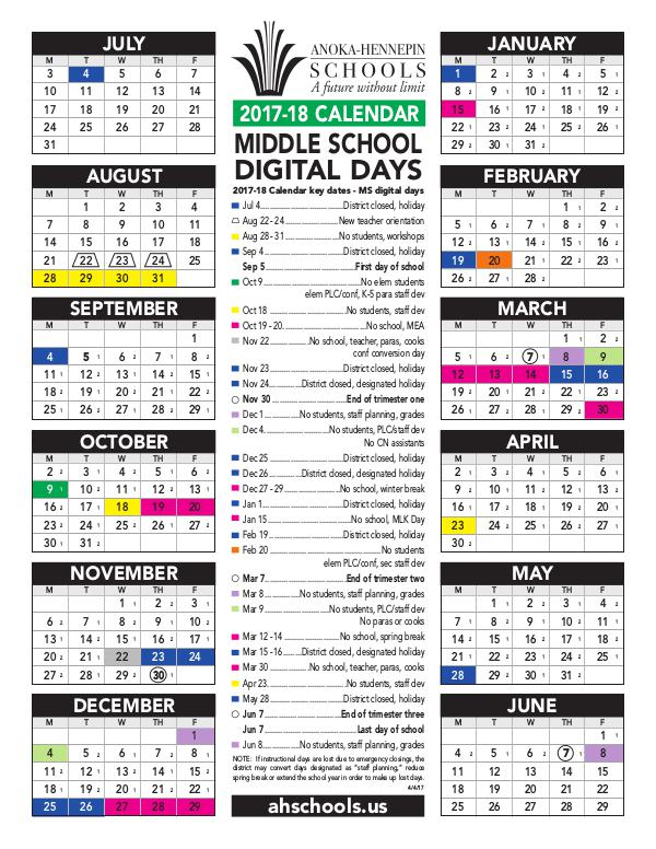 Anoka Hennepin School Calendar 2021 Wallpaper