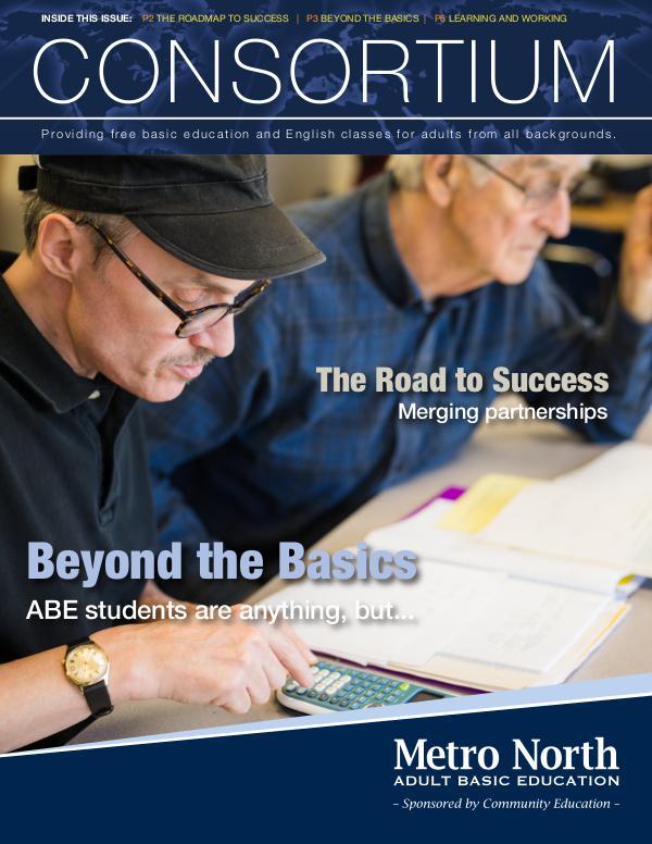 Community Education program brochures Metro North ABE - Consortium newsletter, Mar. 2018