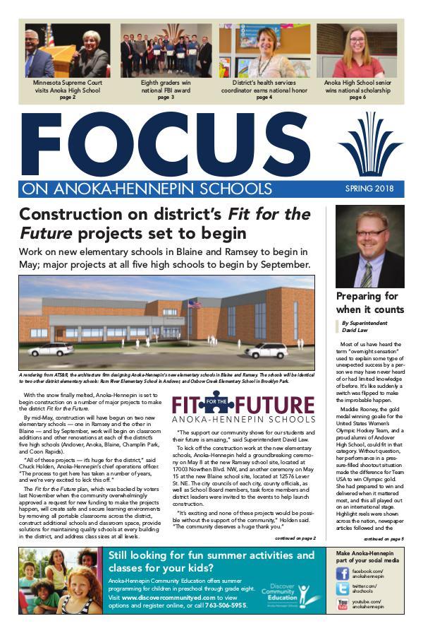2017-18 Focus newsletter, [4] SPRING