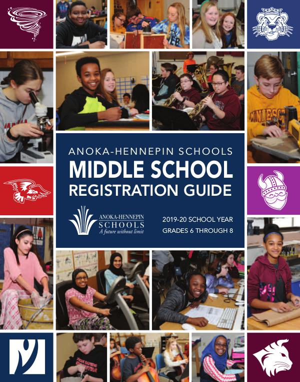 Reports, guides, handbooks Middle school registration guide 2019-20