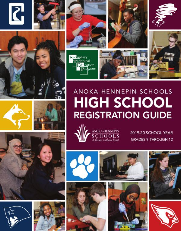 Reports, guides, handbooks High school registration guide 2019-20