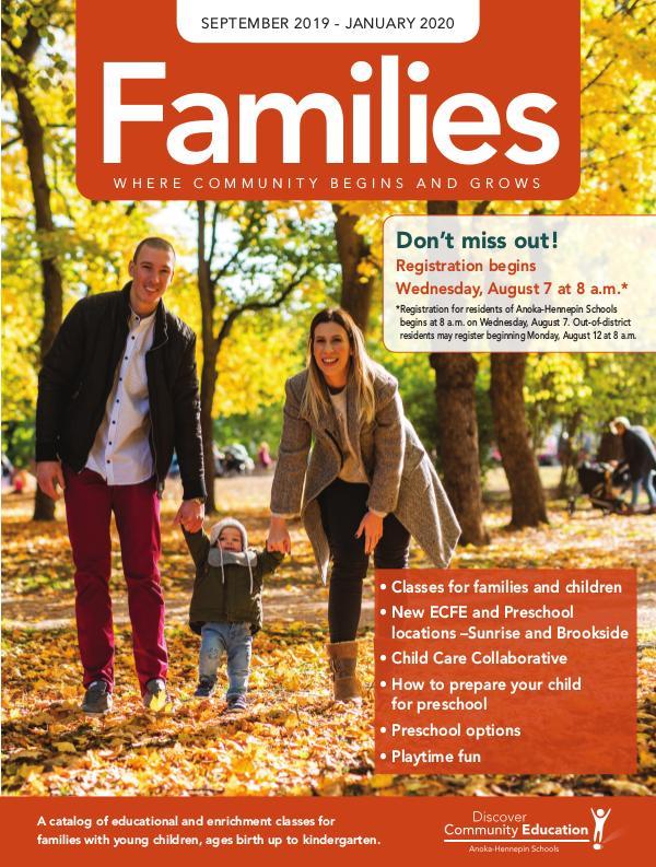 Families - Fall 2019