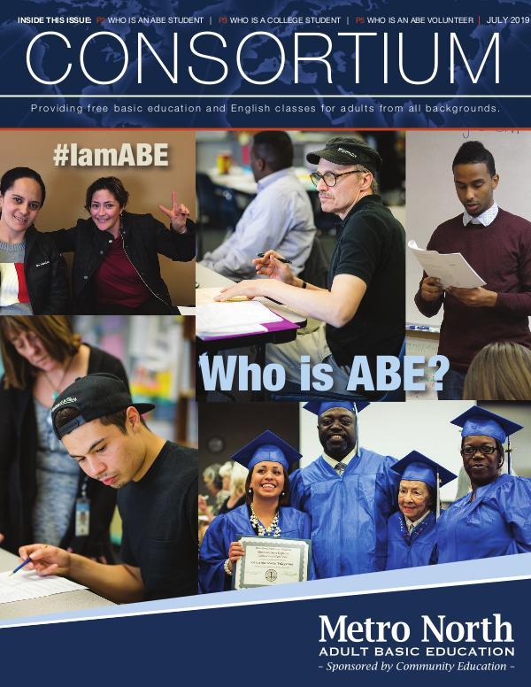Metro North ABE Consortium Newslette, Summer 2019