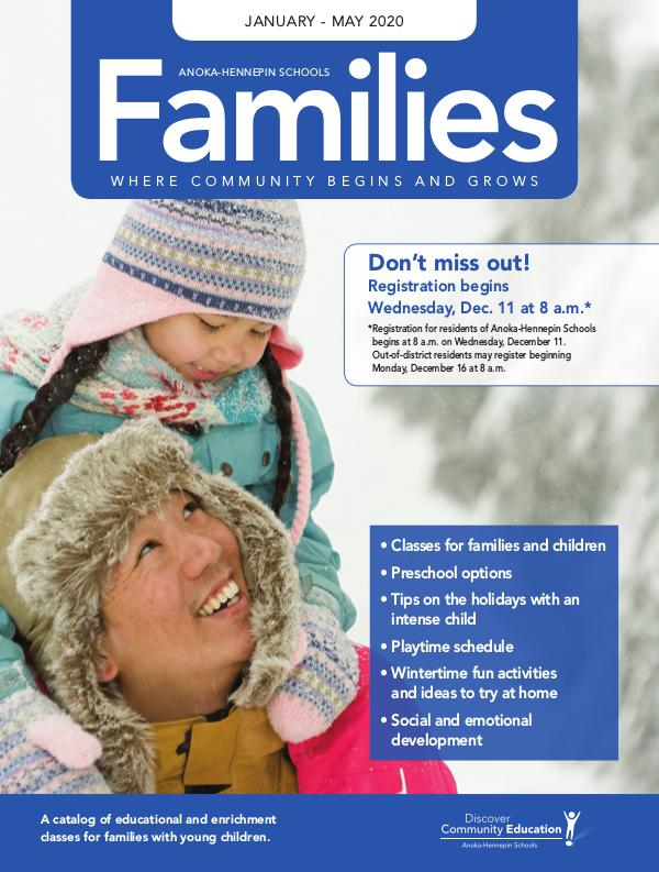 Families - Winter/Spring 2020