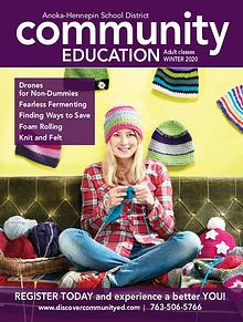 Community Education - current class catalogs