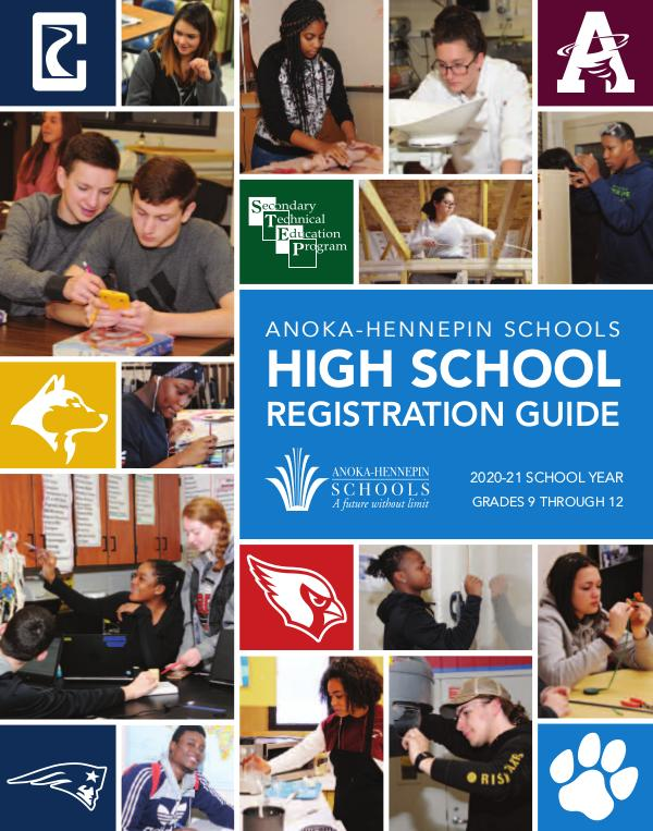 Reports, guides, handbooks High school registration guide 2020-21