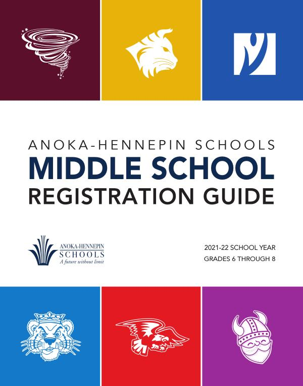 2021 -22 Middle school registration guide
