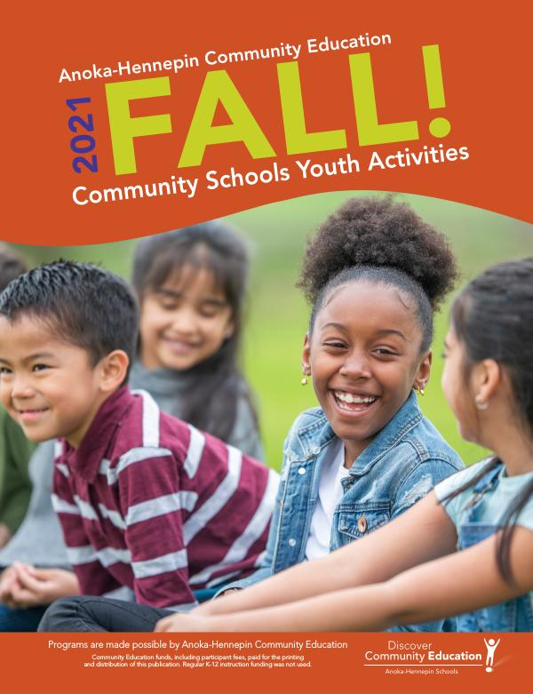 Community Ed. - current class catalogs