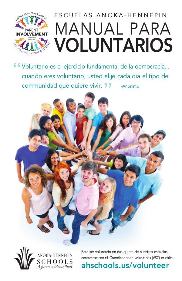 Volunteer handbook - Manual para voluntarios