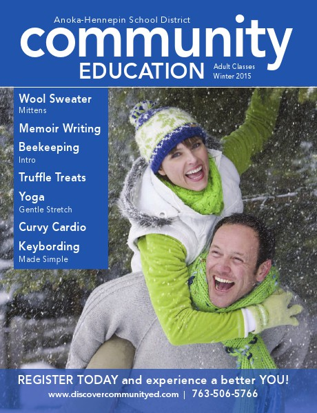Adult classes and activities - Winter 2016