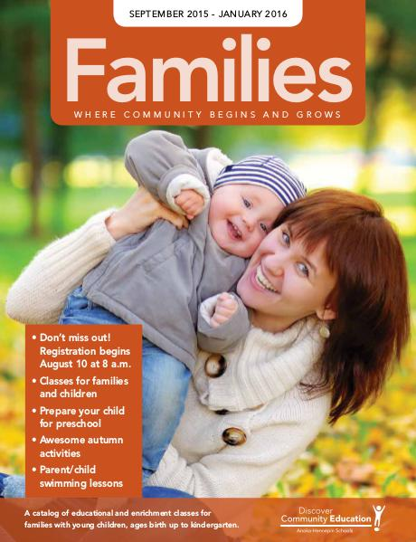 Families (ECFE and Preschool) - Fall 2015