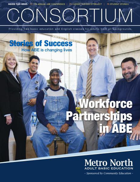 Metro North ABE - Consortium newsletter, Feb. 2016