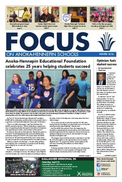 2015-16 Focus newsletter, [3] winter