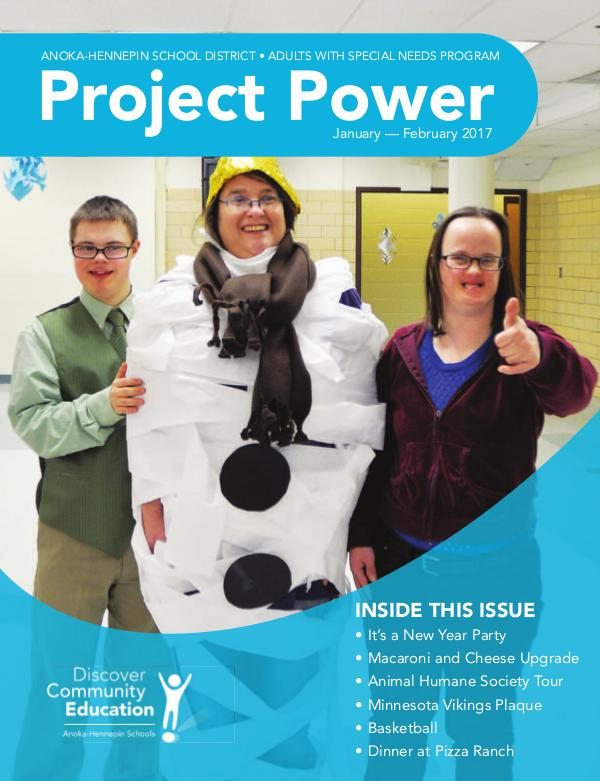Project Power - Winter 2017