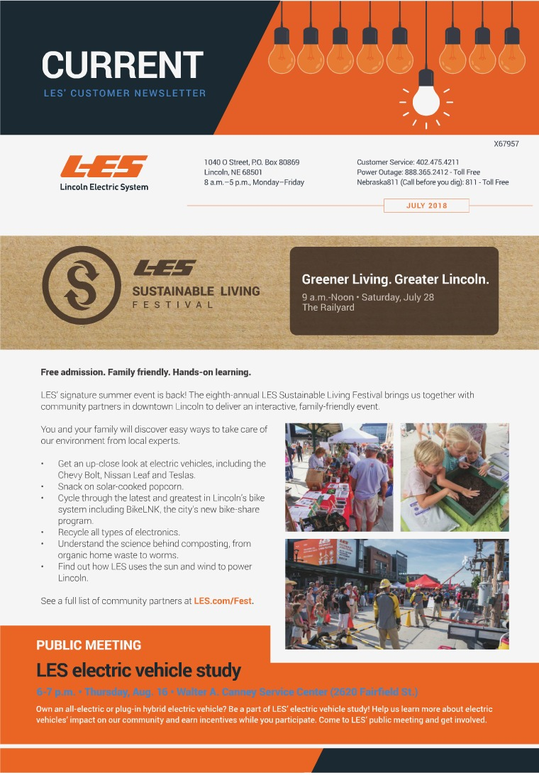 Current  | LES Customer Newsletter Current - July 2018