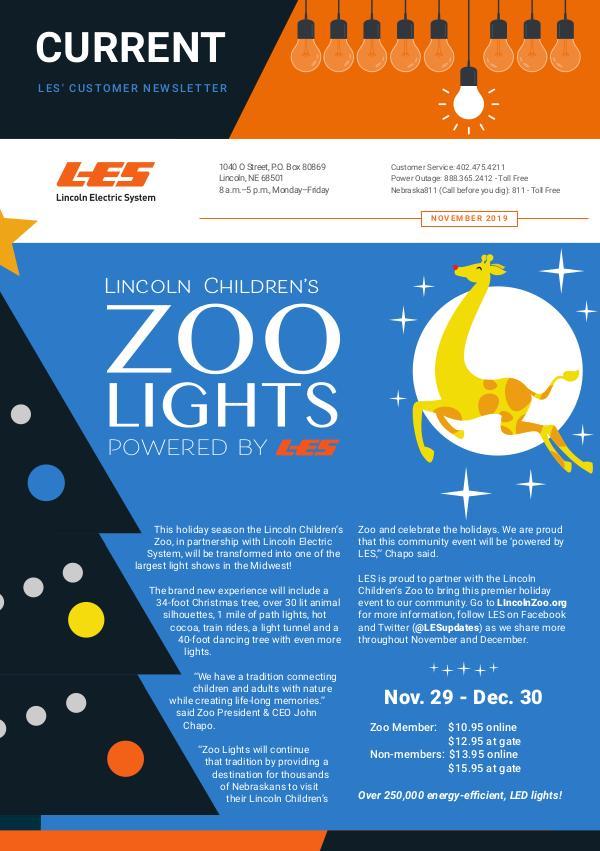 Current  | LES Customer Newsletter Current - November 2019