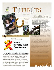 Tidbits of the Month - Equestrian Federation of Jamaica