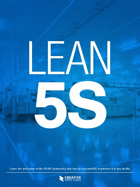 LEAN 5S - Creative Safety Supply May 2014