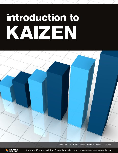 Introduction To Kaizen - Creative Safety Supply April 2014